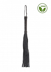 Denim Flogger - Roughend Denim Style - Black