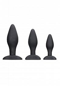 Apex Butt Plug Set - Black