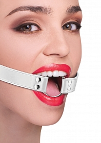 Ring Gag - White