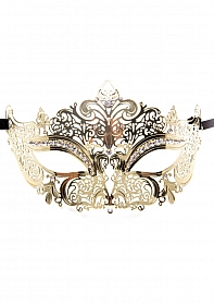 Princess Masquerade Mask - Gold