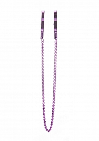 Pincers Nipple Clamps - Purple