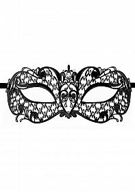 Angel Masquerade Mask - Black