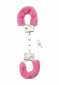 Furry Handcuffs - Pink