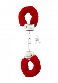 Furry Handcuffs - Red