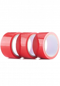 Bondage Tape - 3-pack - Red