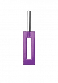 Leather Gap Paddle - Purple