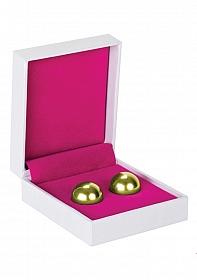 Ben Wa Balls - Erotic Exercise Balls - Gold
