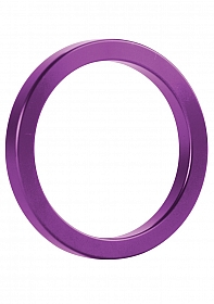 Metal Cockring - Purple