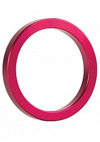 Metal Cockring - Pink