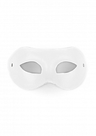 Eye Mask - PVC/Imitation Leather - White