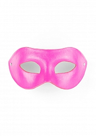 Eye Mask - PVC/Imitation Leather - Pink