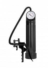 Elite Pump With Advanced PSI Gauge - Black