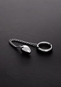 Donut C-Ring Anal Egg (40/40mm) with chain