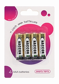 4 Pack AAA Batteries