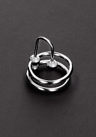 Double Ring Stopper C-Plug - 28mm