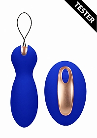 Dual Vibrating Toy - Purity - Blue - Tester