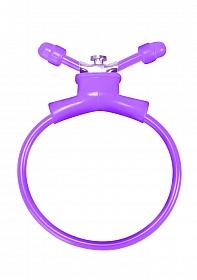 Adjustable Cockring - Purple