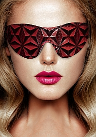 Luxury Eye Mask - Burgundy