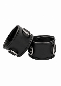 Restraint Ankle Cuff With Padlock - Black