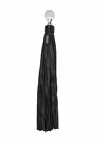 Classic Designer Round Sparkling Handle - Black